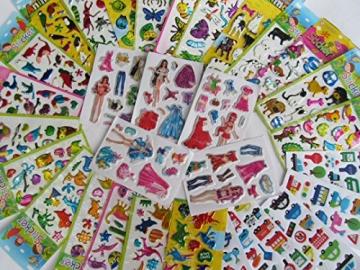 25x Kleine Bögen Mit Kinder Aufkleber Sticker - Viele Motive -