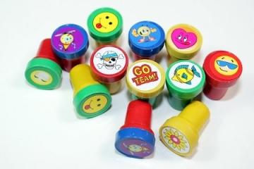 60 Kinderstempel - Mitgebsel Kindergeburtstag -