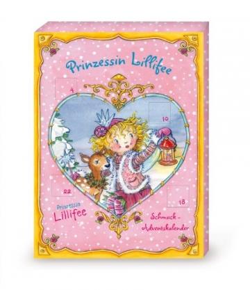 70306 - Coppenrath - Adventskalender: Prinzessin Lillifee Schmuck-Adventskalender -