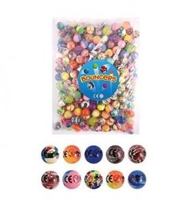 Bouncy Balls - Packung Mit 20 Stück - Party Bag Füller - 27Mm Flummi -