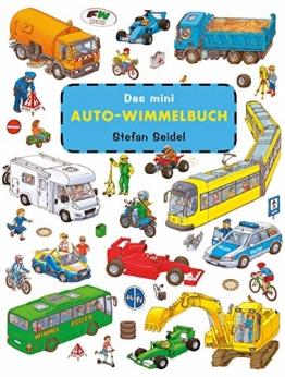 Das mini Auto Wimmelbuch -