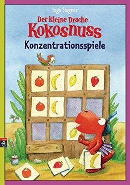 Der kleine Drache Kokosnuss - Konzentrationsspiele (Lernspaß- Rätselhefte, Band 9) -