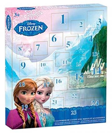 Disney Frozen T15300 - Adventskalender mit jeder Menge Schmuck -