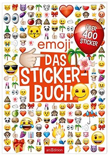 emoji - Das Stickerbuch: Mit 800 Stickern -