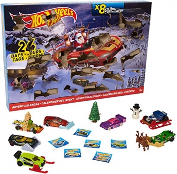 Mattel Hot Wheels DMH53 - Adventskalender 2016 -
