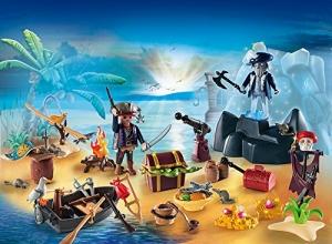 PLAYMOBIL 6625 - Adventskalender - Geheimnisvolle Piratenschatzinsel -