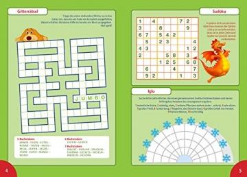 Rätsel für Kinder: 400 Seiten spannender Rätselspaß - Alles in Farbe -