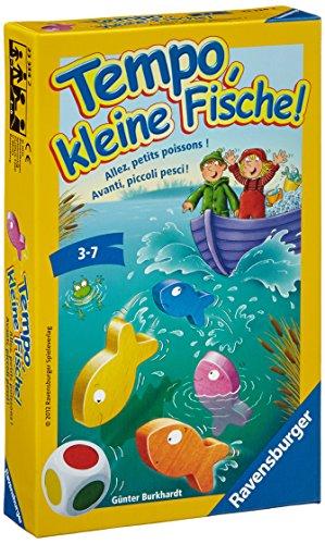 Ravensburger 23334 - Tempo, kleine Fische - Mitbringspiel -