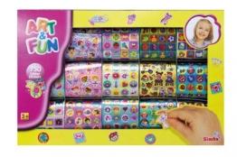 Simba 106301449 - Art & Fun 750 Glittersticker -