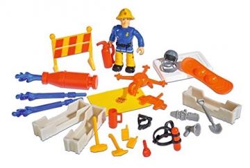 Simba 109258283 - Feuerwehrmann Sam Adventskalender zum Aufklappen 40x26cm -