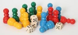 Spielfiguren-Set Ludo -