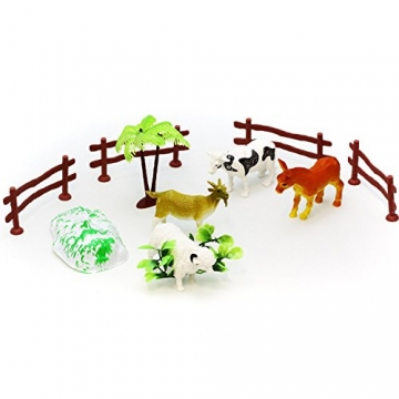"""Spielfiguren Set """"Tier Farm"""" mit Farmtieren und viel Zubehör -"""